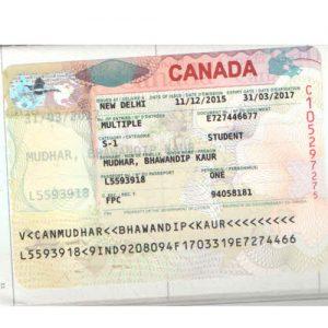 Bhavandeep - Canada Visa
