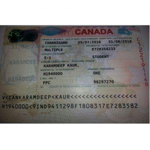 Karamdeep - Canada Visa