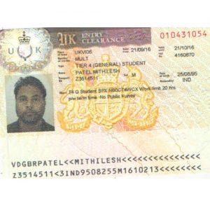 Mithilesh - UK Visa