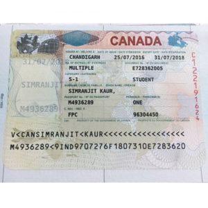 Simranjeet - Canada Visa