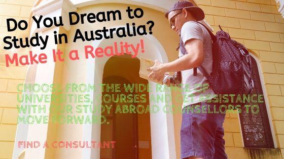 Do You Dream to Study in Australia?